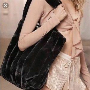 Victoria's Secret Fur Tote